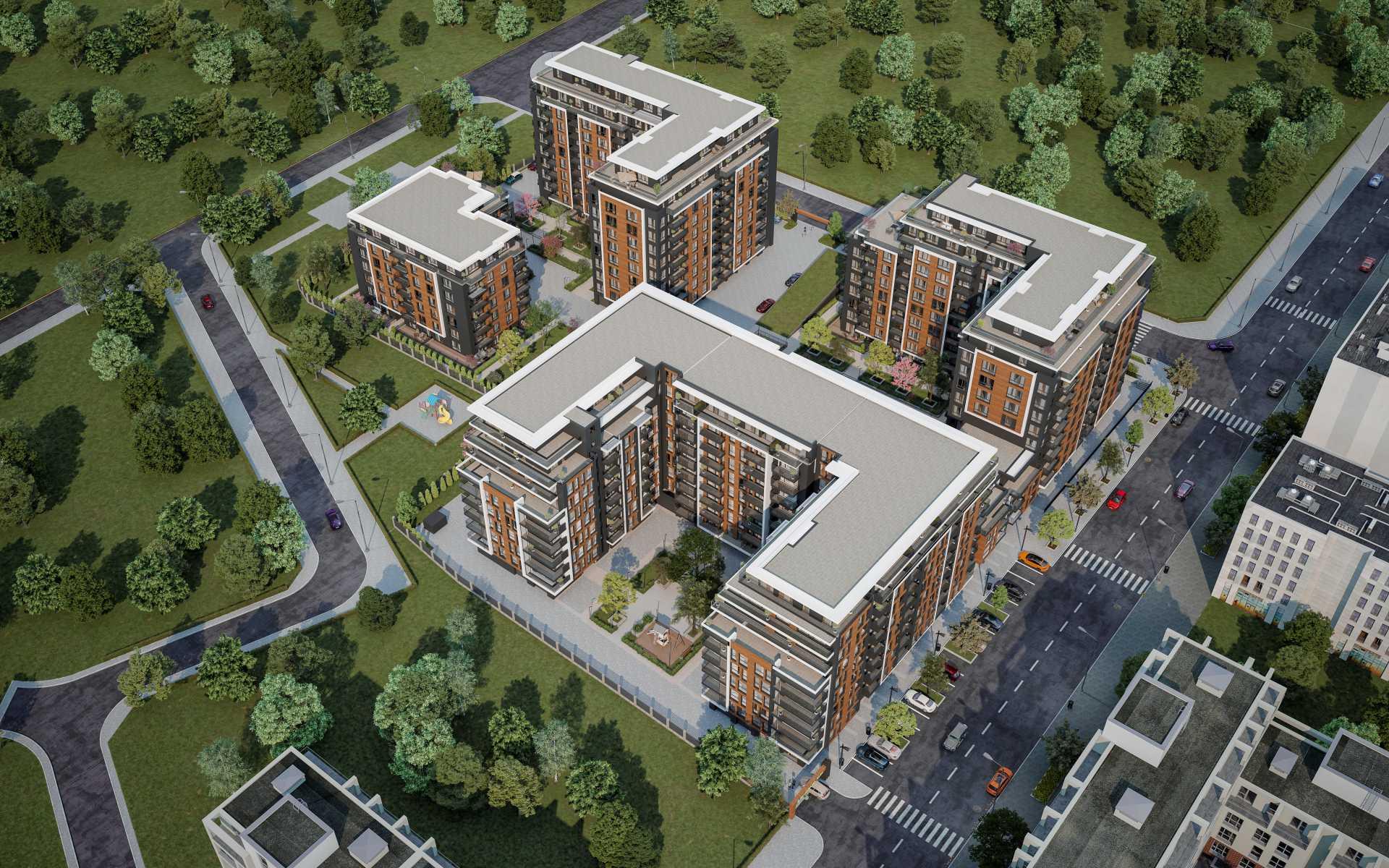 Апартаменти ново строителство - Пловдив